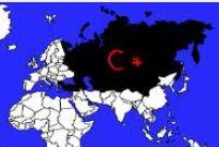 نقشه توران پان ترکیسم