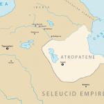 نقشه آذربایجان در زمان اسکندر هخامنشی ها
