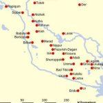 نقشه سومر. زبان سومری زبانی تکخانواده است