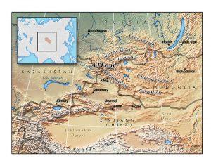 منطقه آلتای در حدود شمال چین خاستگاه ترک ها