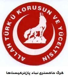 Bozkurts یا گرگ خاکستری بوزقورت نماد پان ترکیست ها